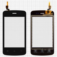 Touchscreen for Fly E157 Cell Phone, (black)