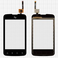 Touchscreen for Fly IQ238 Cell Phone, (black)