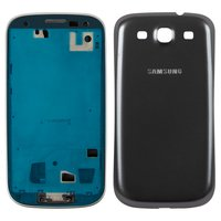 Housing for Samsung I9300 Galaxy S3 Cell Phone, (grey)