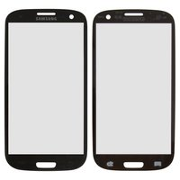 Housing Glass for Samsung I9300 Galaxy S3, I9305 Galaxy S3 Cell Phones, (grey)