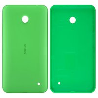 Housing Back Cover for Nokia 630 Lumia Dual Sim Cell Phone, (green, with side button)