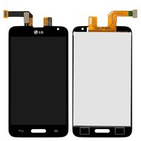 LCD for LG D320 Optimus L70, D321 Optimus L70, MS323 Optimus L70 Cell Phones, (black, with touchscreen)
