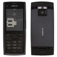 Housing for Nokia X2-00 Cell Phone, (black, high copy, with keyboard)