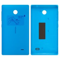 huge discount 2b390 b132b Housing Back Cover Nokia X Dual Sim, (blue, with side button)