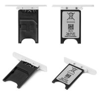 SIM Card Holder for Nokia 800 Lumia Cell Phone, (white)