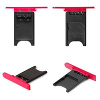 SIM Card Holder for Nokia 800 Lumia Cell Phone, (pink)