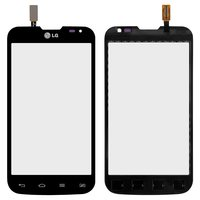 Touchscreen for LG D325 Optimus L70 Dual SIM Cell Phone, (black, (124*64mm))
