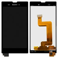 LCD for Sony D5102 Xperia T3, D5103 Xperia T3, D5106 Xperia T3 Cell Phones, (black, with touchscreen)