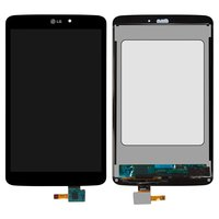 LCD for LG G Pad 8.3 V500 Tablet, (black, with touchscreen)