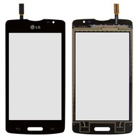 Touchscreen for LG D373 Optimus L80 Blanco Cell Phone, (black)