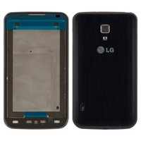 Housing for LG P715 Optimus L7 II Cell Phone, (dark blue)