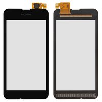 Touchscreen for Nokia 530 Lumia Cell Phone, (black) #CHIPONE ICN8512F.H/5562H-FPC-4