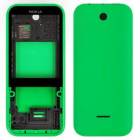 Housing for Nokia 225 Dual Sim Cell Phone, (green)