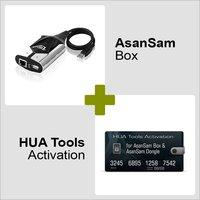Asansam Box and Hua Tools Activation