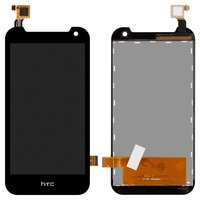 LCD for HTC Desire 310 Dual Sim Cell Phone, (black, with touchscreen, (127*63))