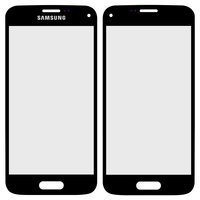 Housing Glass for Samsung G800H Galaxy S5 mini Cell Phone, (black)