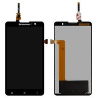 LCD for Lenovo S8 S898T, S8 S898T+ Cell Phones, (black, with touchscreen)