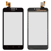 Touchscreen for Huawei Ascend G630-U00, Ascend G630-U10, Ascend G630-U251 Cell Phones, (black)