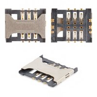 SIM Card Connector for Fly DS106D, IQ238, IQ431 Glory, IQ449 Pronto, SL140DS Cell Phones