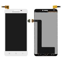 LCD for Lenovo S850 Cell Phone, (white, with touchscreen)