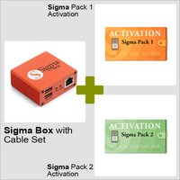 Sigma Box with Cable Set + Sigma Pack 1/2 Activations