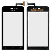 Touchscreen for Asus ZenFone 4 (A450CG) Cell Phone, (black, 4,5