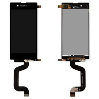 LCD for Sony D2202 Xperia E3, D2203 Xperia E3, D2206 Xperia E3 Cell Phones, (black, with touchscreen)