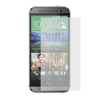 Tempered Glass Screen Protector for HTC One M8, One M8 Dual SIM, One M8e Cell Phones, (0,26 mm 9H, (without package, without wipes))