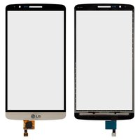 Touchscreen for LG G3 D855 Cell Phone, (golden)