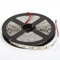 Tira de luces LED SMD5050 (luz blanca normal, 300 diodos LED, 12 V DC, 5 m)