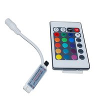 IR Remote Controller for RGB 3528 5050 5630 LED Strips (12 V, 6 A)