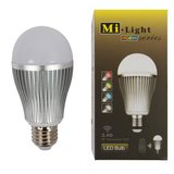 LED Light Bulb MiLight RGBW 9W E27 WW>