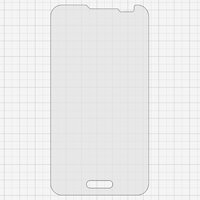 Tempered Glass Screen Protector All Spares for LG D320 Optimus L70, D321 Optimus L70, MS323 Optimus L70 Cell Phones, (0,26 mm 9H)