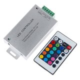 LED Controller with IR Remote Control HTL-010 (RGB, 5050, 3528, 144 W)