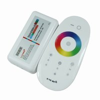 LED Controller with Touch Remote HTL-025 (RGB, 5050, 3528, 216 W)