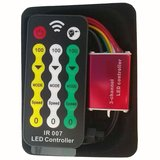 LED Controller with IR Remote Control HTL-028 (RGB, 5050, 3528, 144 W)