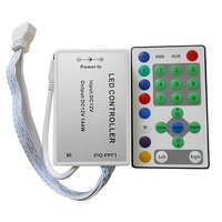LED Controller with IR Remote Control HTL-030 (Horse Running, 5050, 3528)