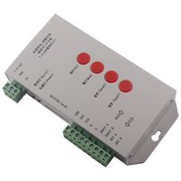 LED RGB Controller T-1000S HTL-008 (with SD card, DMX 512, WS2811, WS2801, WS2812B, 15 A)