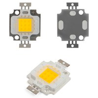 COB LED Chip 10 W (warm white, 800 lm, 900 mA, 9-11 V)