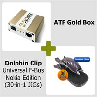 ATF Gold Box + Dolphin Clip Universal Fbus Nokia Edition ( 30-in-1 JIGs )