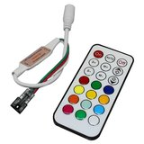 LED Controller with IR Remote Control TH2015-X (RGB, WS2811, WS2812, 5 V)