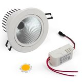 LED Downlight DIY Kit COB 5 W (warm white)