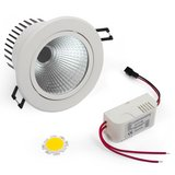 LED Downlight DIY Kit COB 7 W (cold white)