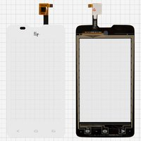 Touchscreen for Fly IQ449 Pronto Cell Phone, (white) #TXC-TX-F50288-001-C-9218