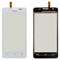 Touchscreen for Huawei U8951D Ascend G510 Cell Phone, (white)