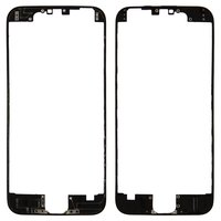 LCD Binding Frame for Apple iPhone 6 Cell Phone, (black)