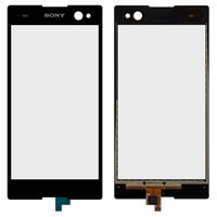 Touchscreen for Sony D2502 Xperia C3 Dual, D2533 Xperia C3 Dual Cell Phones, (black)