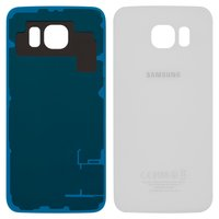 Housing Back Cover for Samsung G920F Galaxy S6 Cell Phone, (white, high copy)