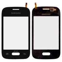 Touchscreen for Samsung G110 Galaxy Pocket 2 Duos, G110B, G110F, G110H, G110M Cell Phones, (black)