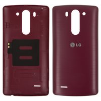 Battery Back Cover for LG G3s D722, G3s D724 Cell Phones, (red)